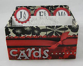 JRB gun metal cards