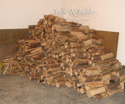 JRB wood pile