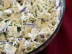 JRB apple coleslaw
