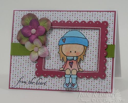 JRB gingersnap card