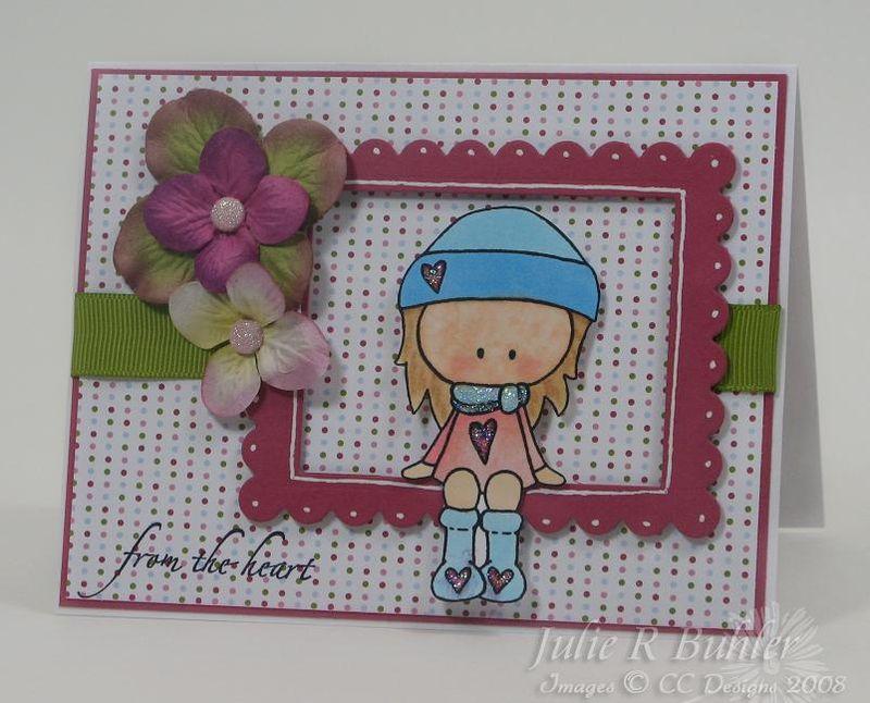 JRB gingersnap card