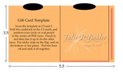 JRB gift card template