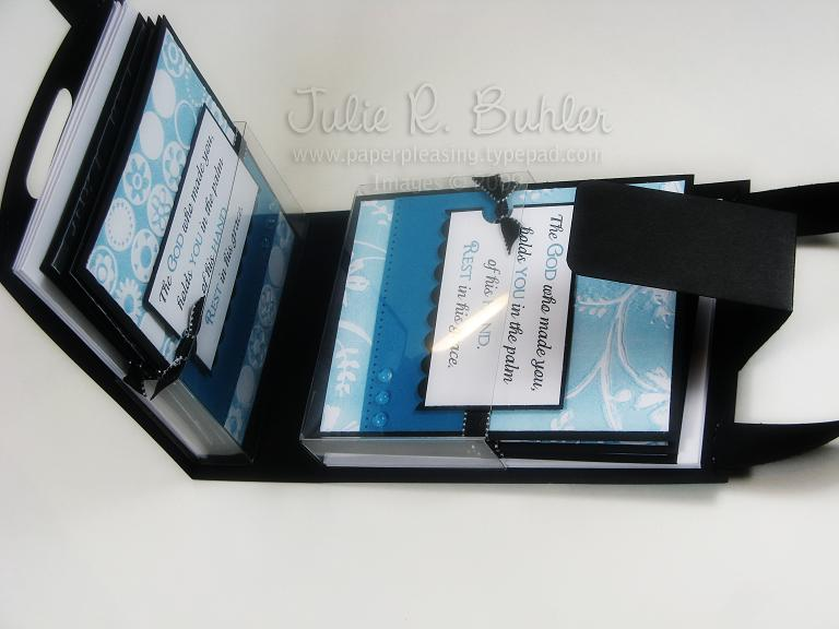 JRB card holder open