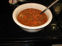 JRB hamburger soup finshed