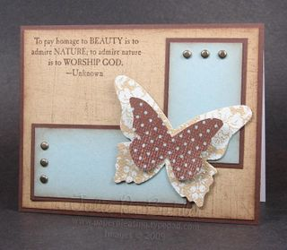 JRB layered butterfly