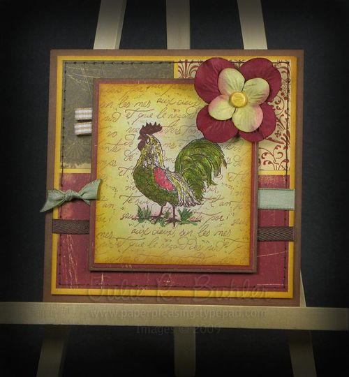 JRB vintage rooster