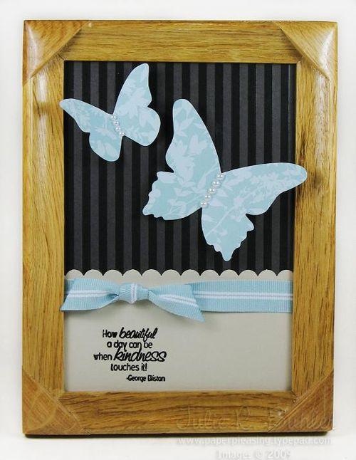 JRB kind butterfly frame