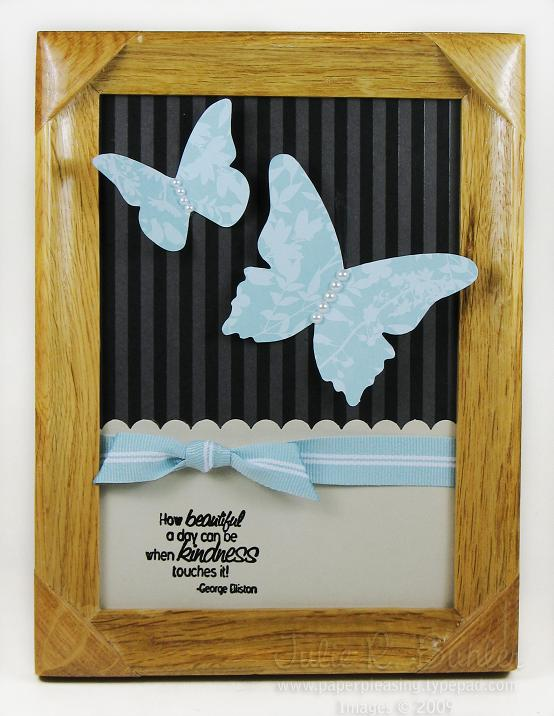JRB kind butterfly frame