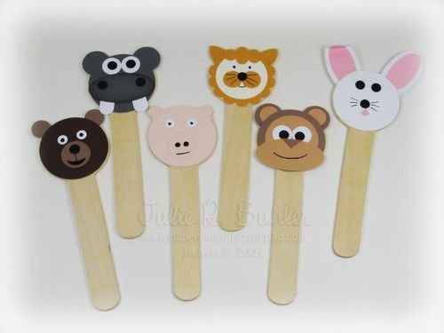 JRB popsicle animals