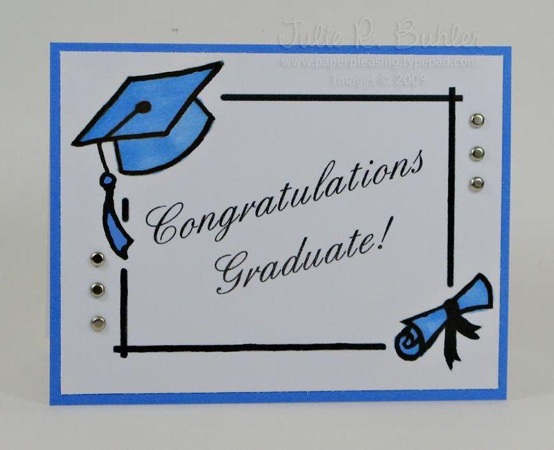 JRB graduate card