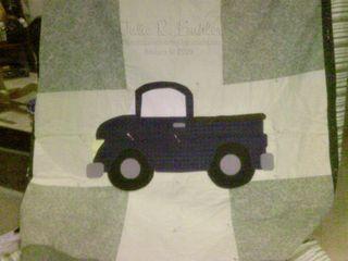 JRB truck quilt