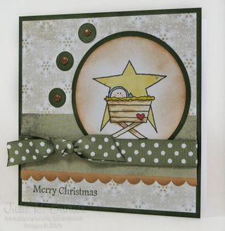 JRB vintage Christmas baby