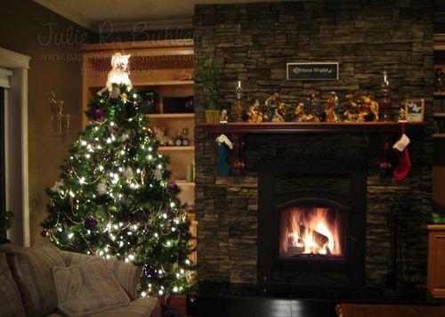 JRB tree fire mantle