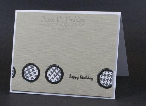 JRB circle masculine card