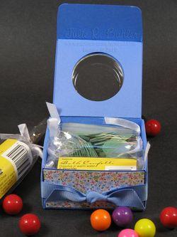 JRB gum box open
