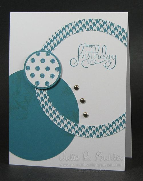JRB teal birthday circles
