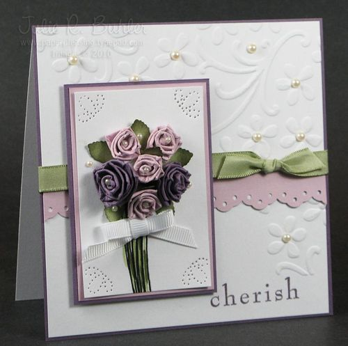 JRB cherish rose bouquet