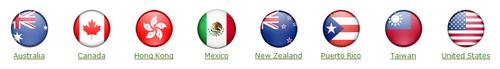 Isagenix countries