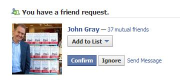 John gray friend