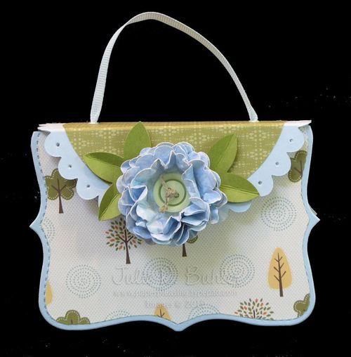JRB flowers and trees purse