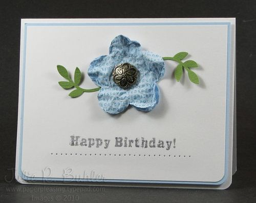 JRB simple birthday flower