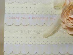 JRB row word lace card