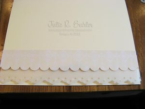 JRB row 2 lace card