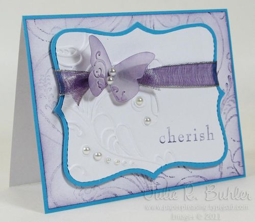 JRB purple cherish butterfly