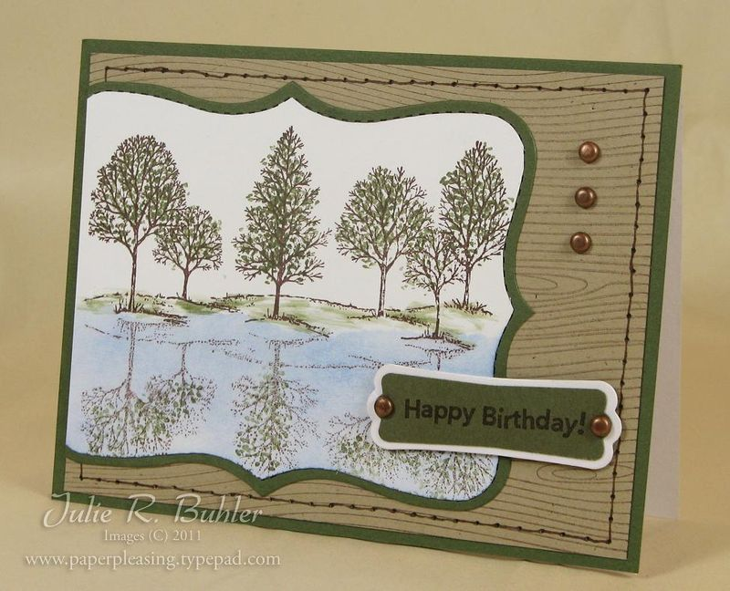 JRB boyish tree card