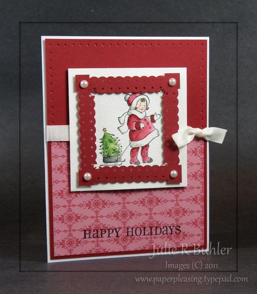 JRB christmas frame