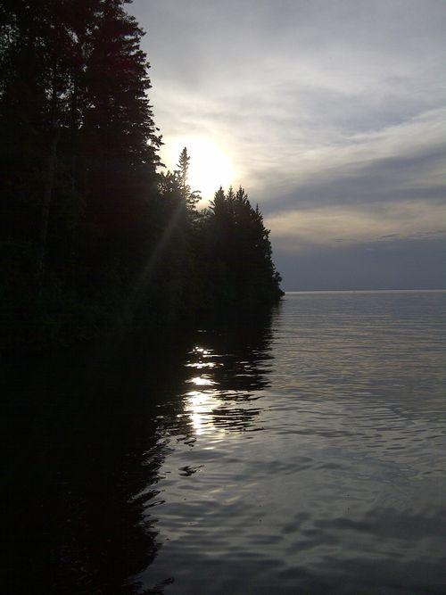 JRB dusk at lake