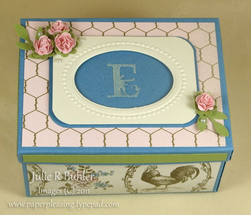 JRB mono rose box