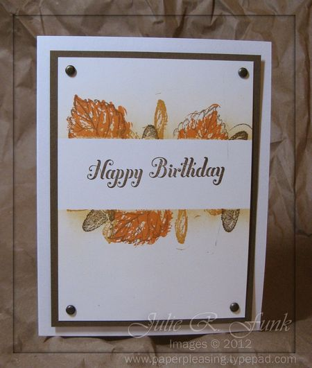 PPI masculine birthday leaves